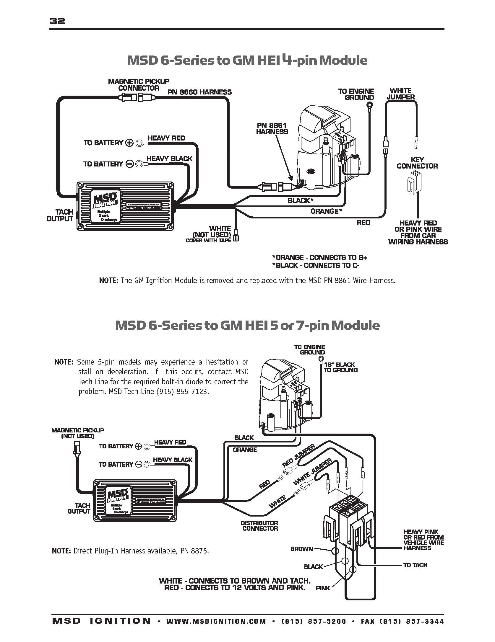 Msd Ignition 6Al Wiring Diagram | Manual E-Books - Msd Digital 6Al Wiring Diagram