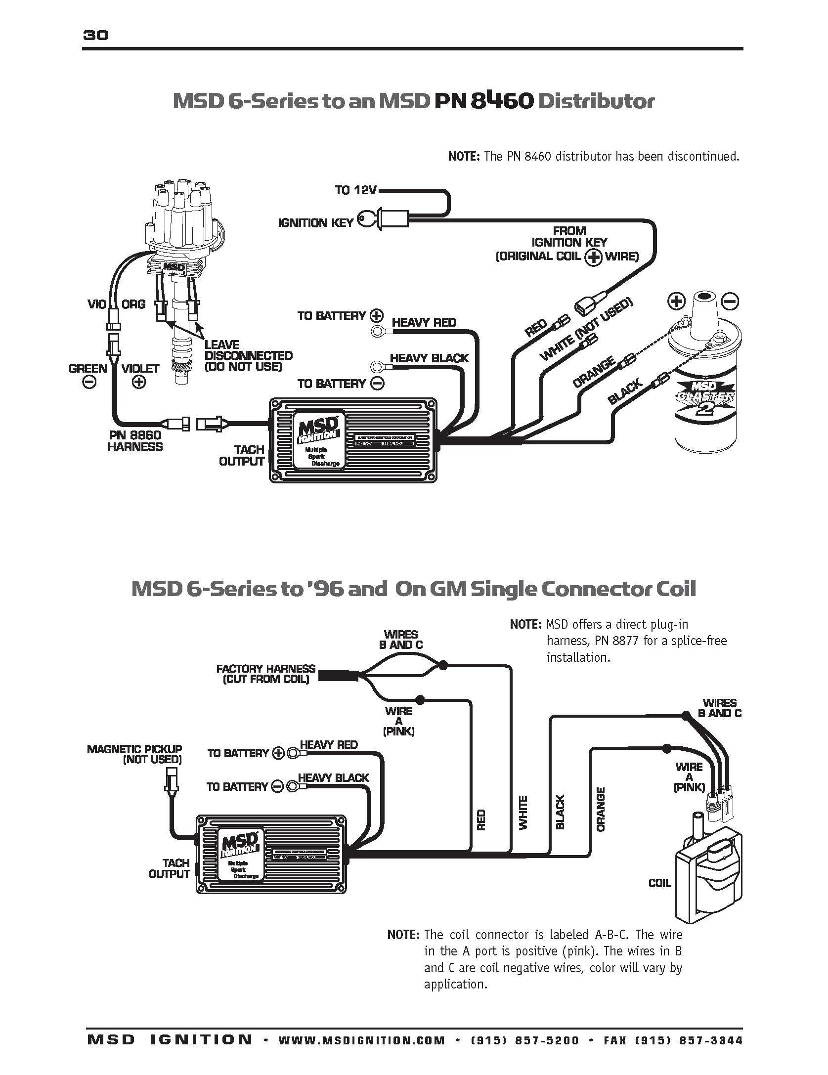 Msd Wiring Diagram - Wiring Diagrams Hubs - Msd Ignition Wiring Diagram