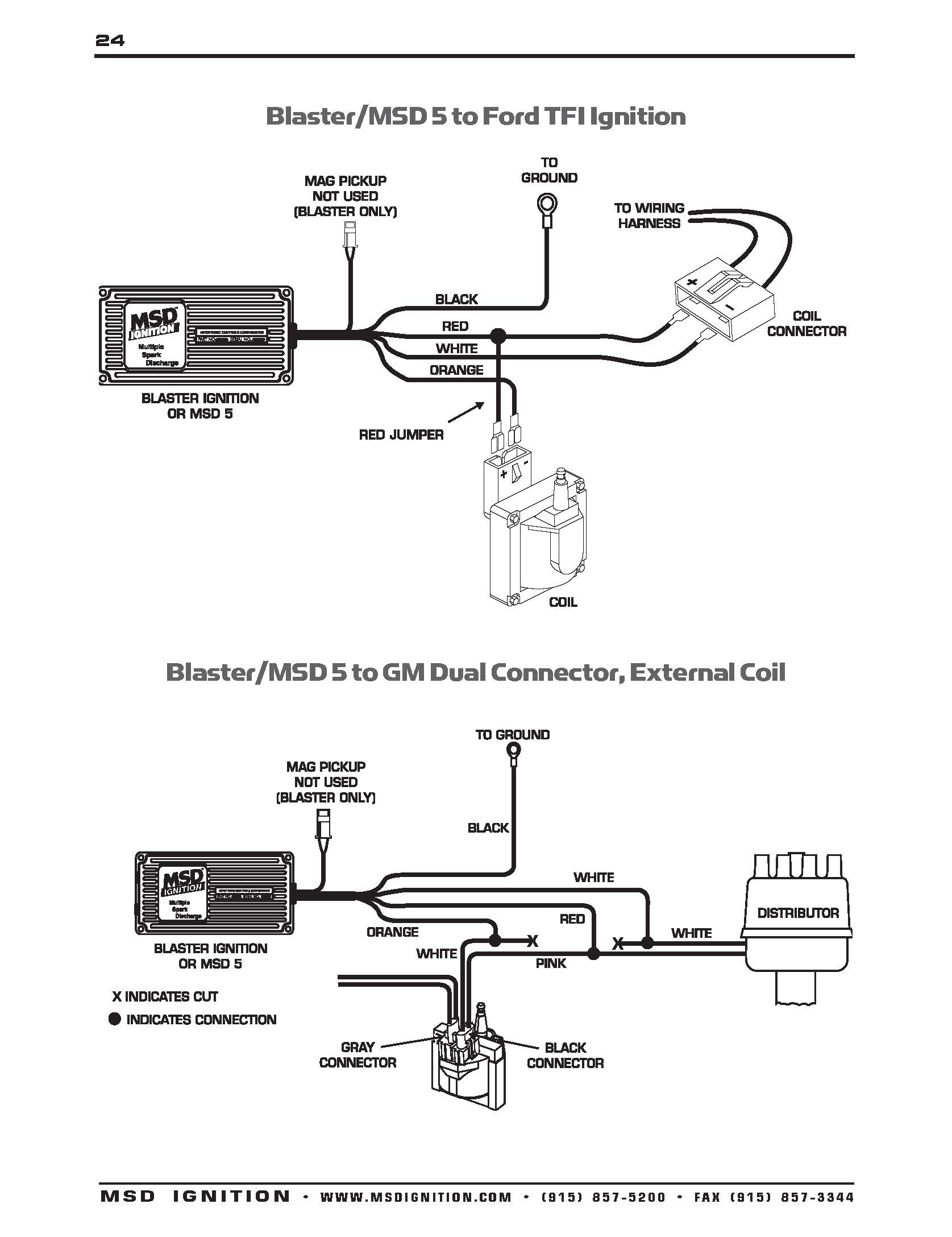 Msd Wiring Diagrams – Brianesser - Ford Ignition Coil Wiring Diagram