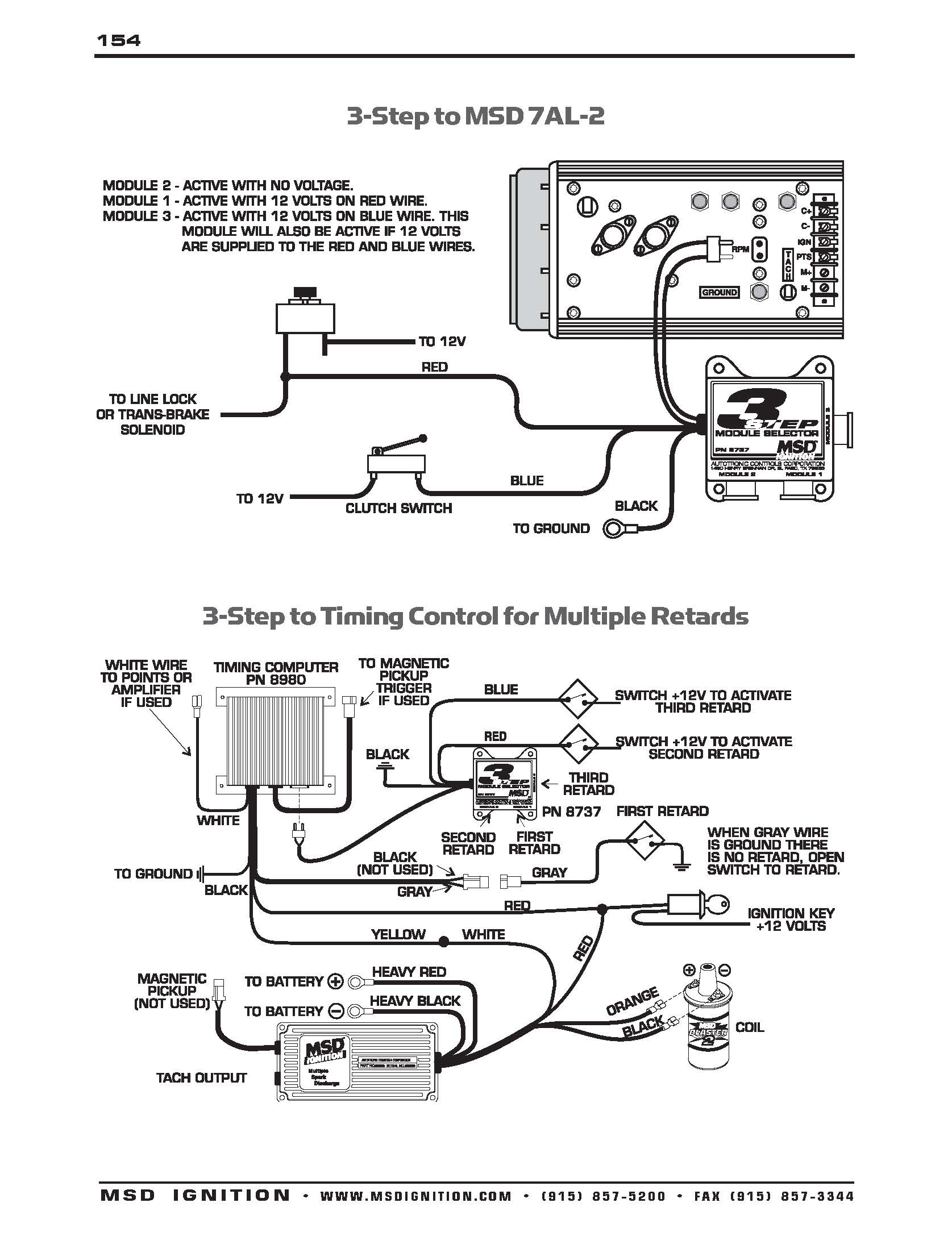 Msd Wiring Diagrams – Brianesser - Msd 6A Wiring Diagram