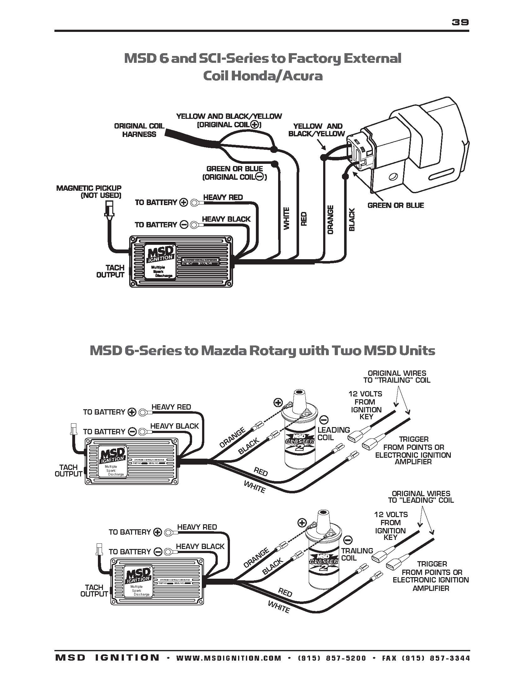 Msd Wiring Diagrams – Brianesser - Msd 6Al Wiring Diagram Ford