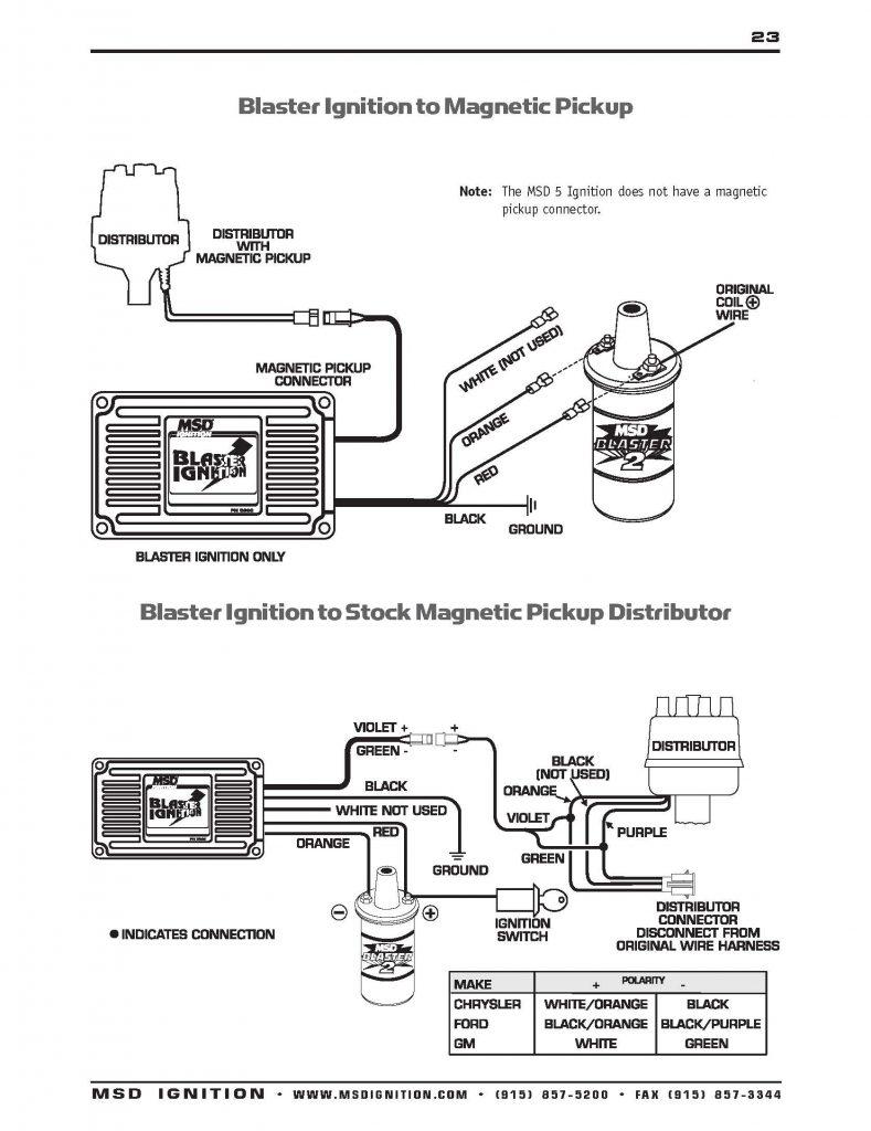 Msd Wiring Diagrams  U2013 Brianesser