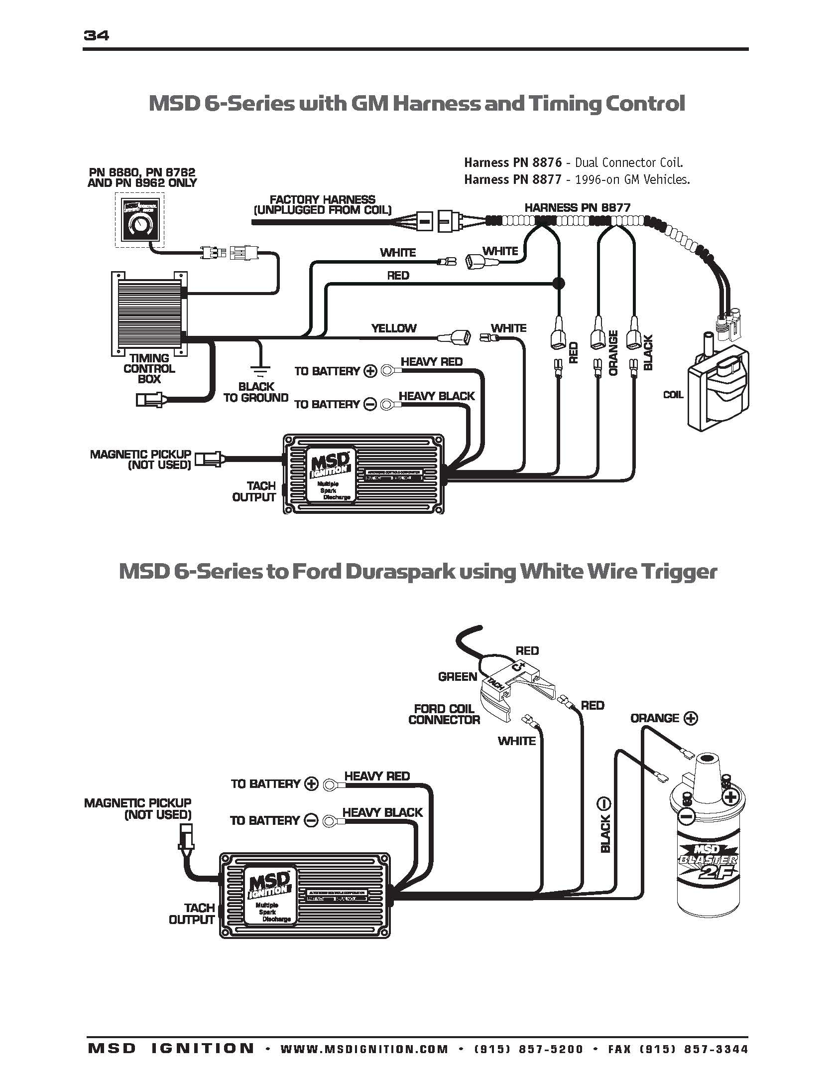 Msd Wiring Gm | Wiring Library - Chevy Ignition Coil Wiring Diagram