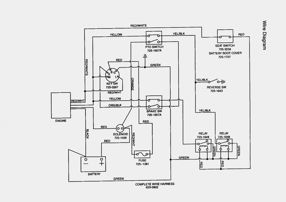 Mtd Ignition Switch Wiring Diagram - Wiring Diagrams Thumbs - Mtd Ignition Switch Wiring Diagram
