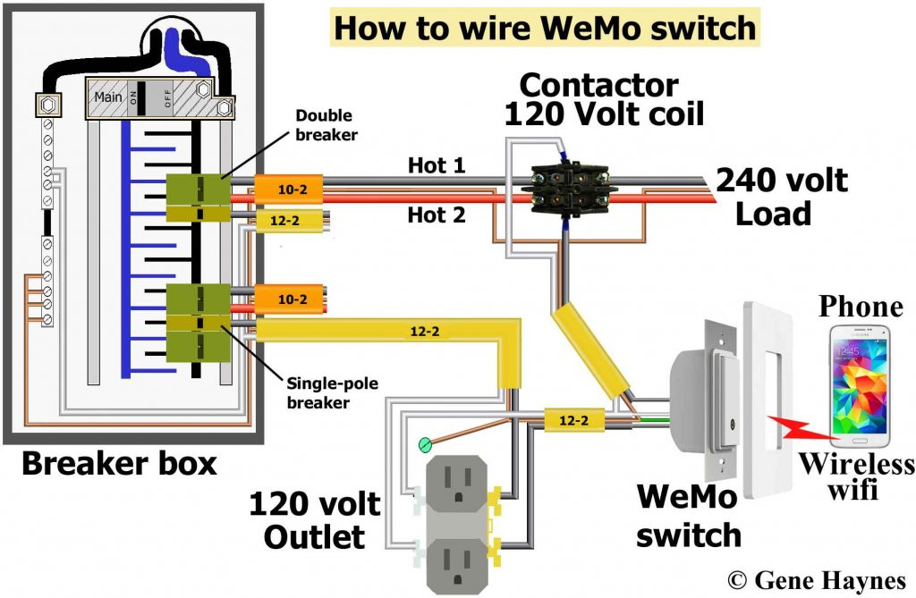 Multiple Schematic Switch Combo Wiring