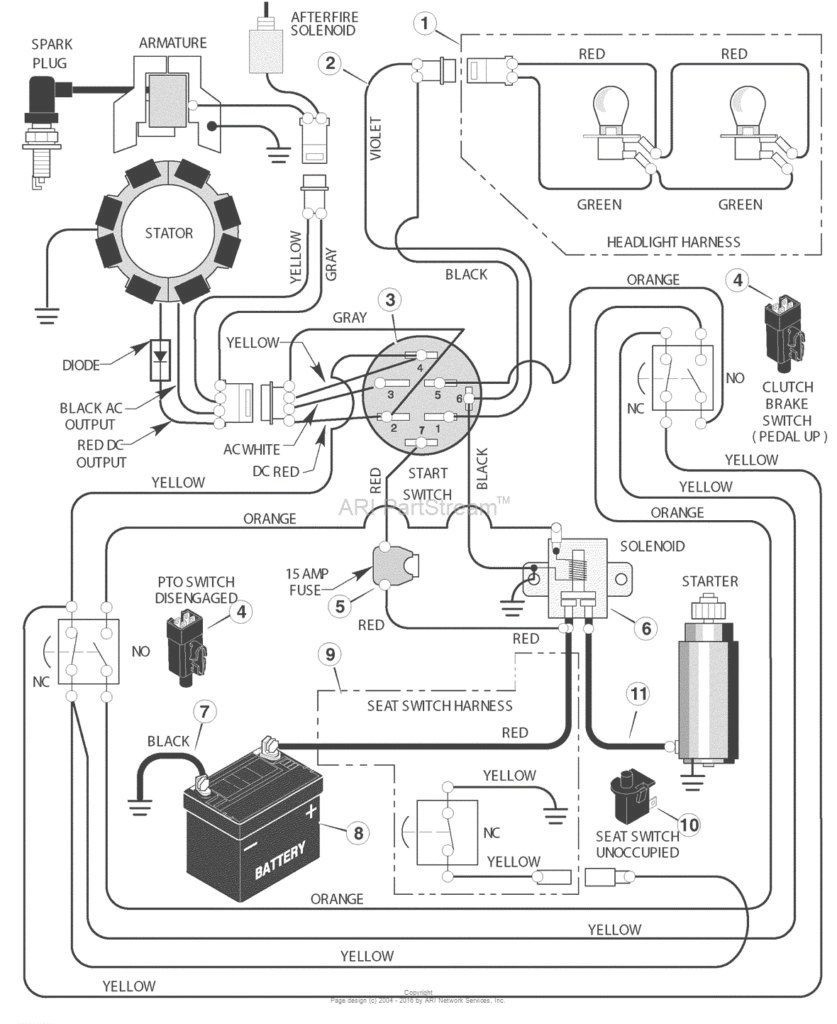 Murray Ignition Switch Diagram - Trusted Wiring Diagram - Lawn Mower Ignition Switch Wiring Diagram
