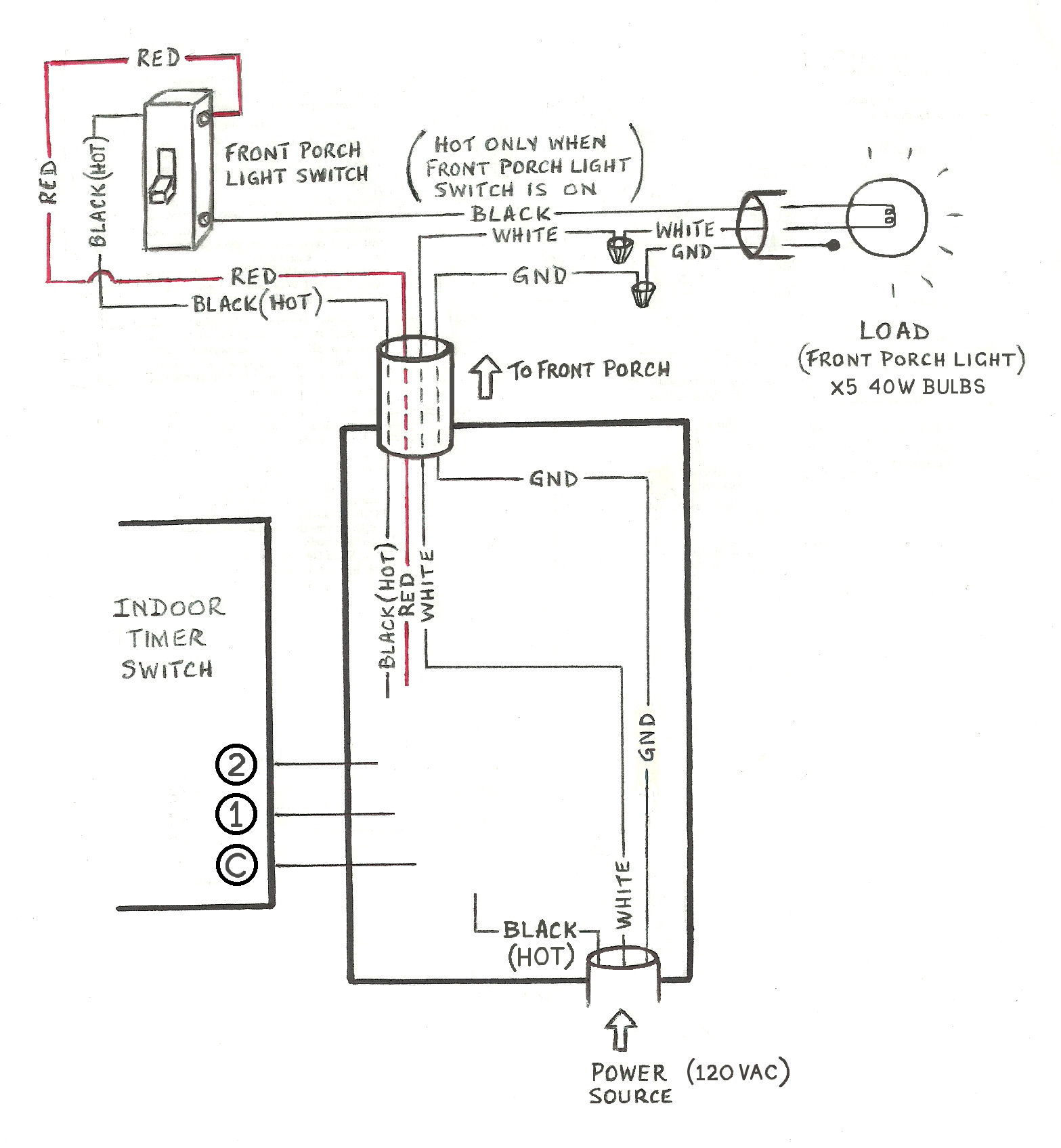 Need Help Wiring A 3-Way Honeywell Digital Timer Switch - Home - 3 Way Wiring Diagram