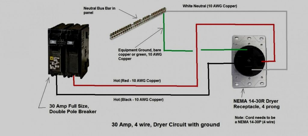 Nema 10 30r 240 Volt 30 Amp Plug Wire Diagrams