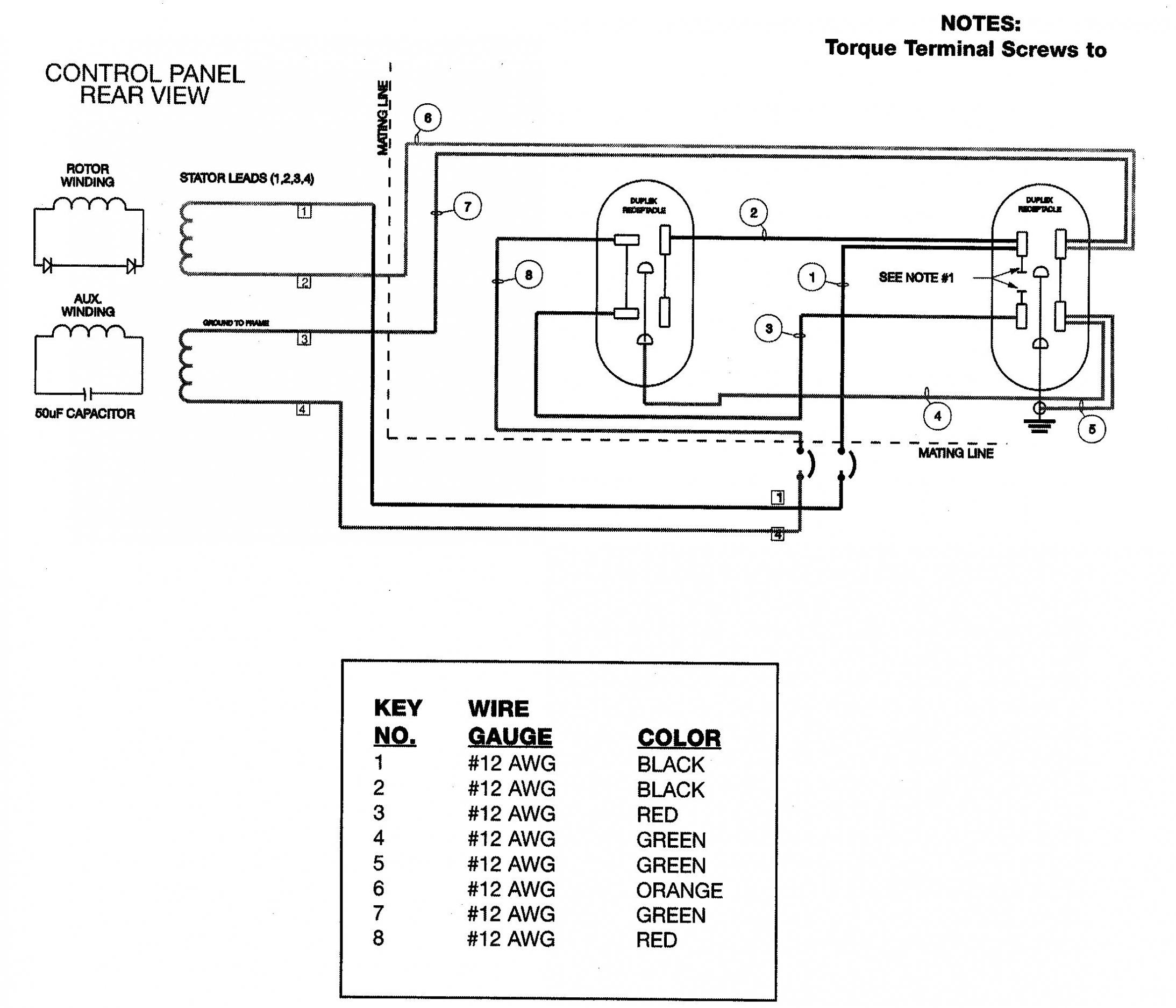 Nema L14 30 Wiring Diagram — Daytonva150 - 4 Prong Generator Plug Wiring Diagram
