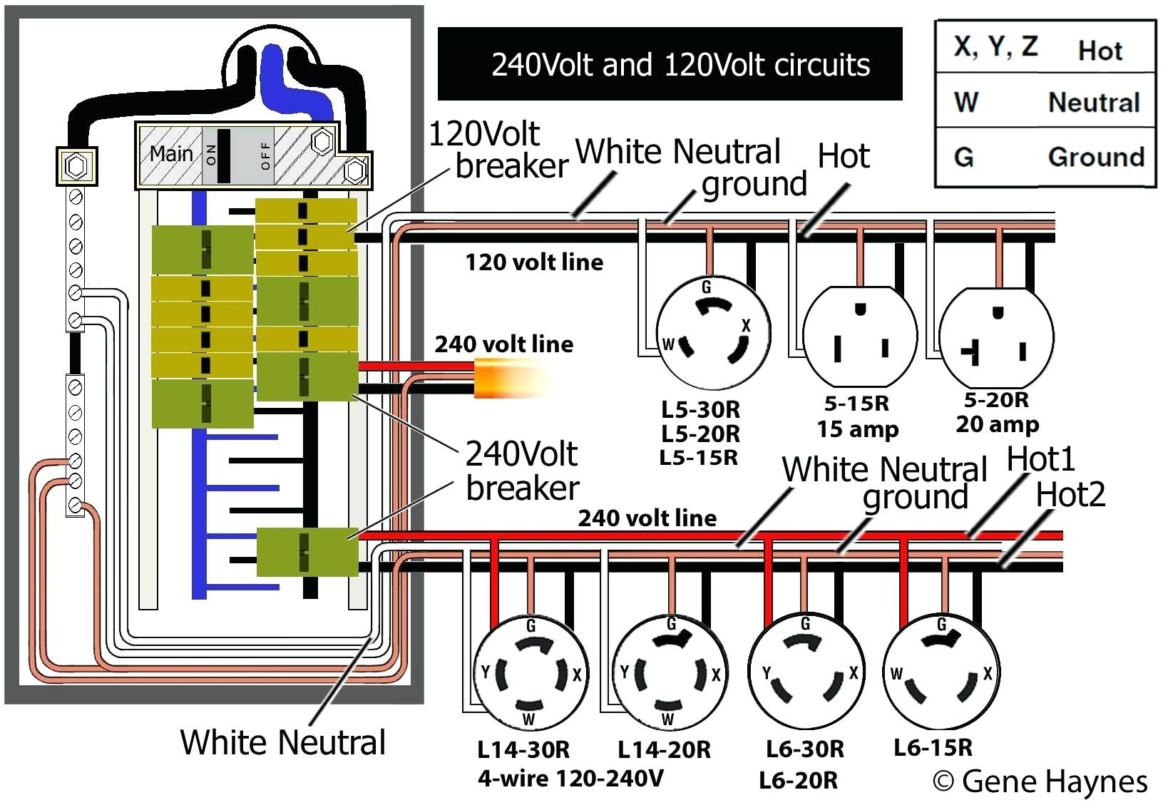 Nema L14 30 Wiring Diagram