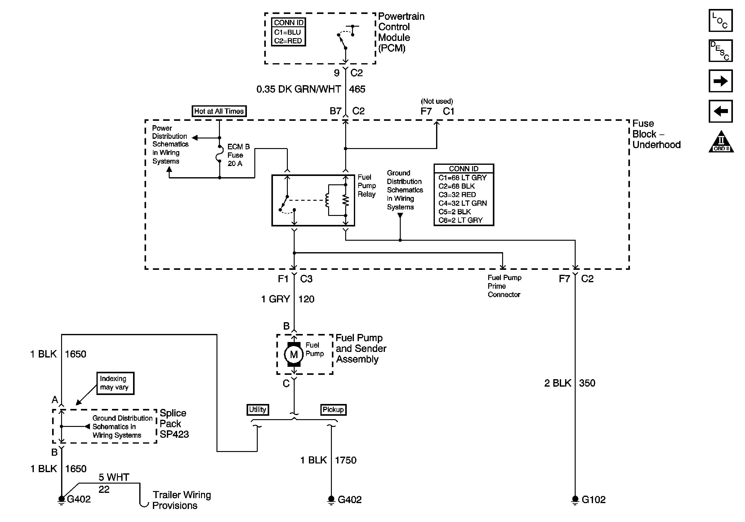 2000 Chevy Silverado Fuel Pump Wiring Diagram