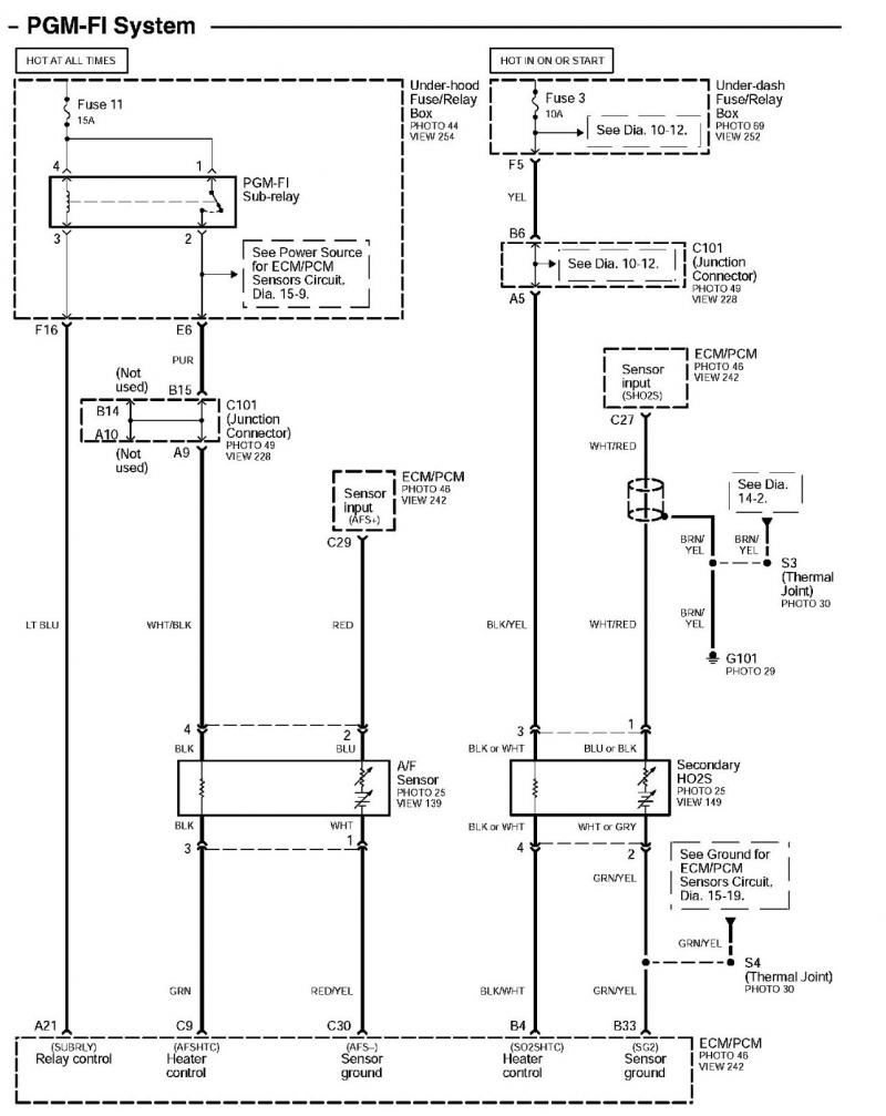 Newest 99 Civic O2 Sensor Wiring Diagram 4 Wire O2 Sensor Diagram - 4 Wire O2 Sensor Wiring Diagram