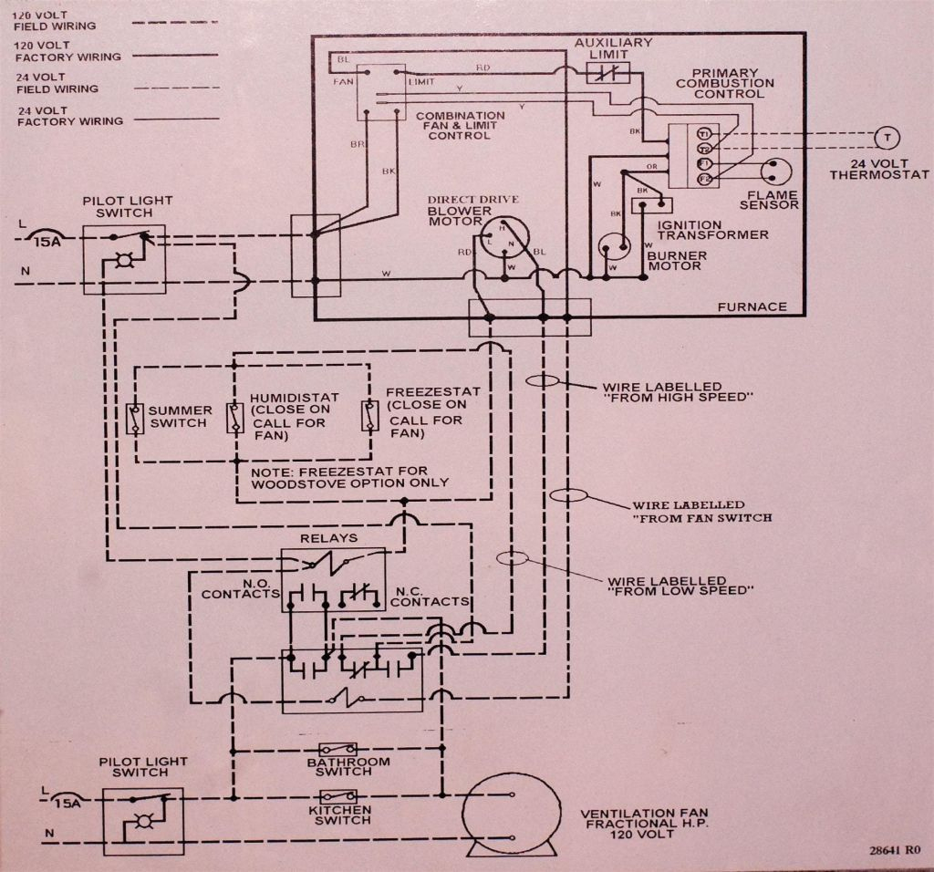 Oil Wiring Beckett Ck Furnace 62Aj | Wiring Diagram - Beckett Oil Burner Wiring Diagram