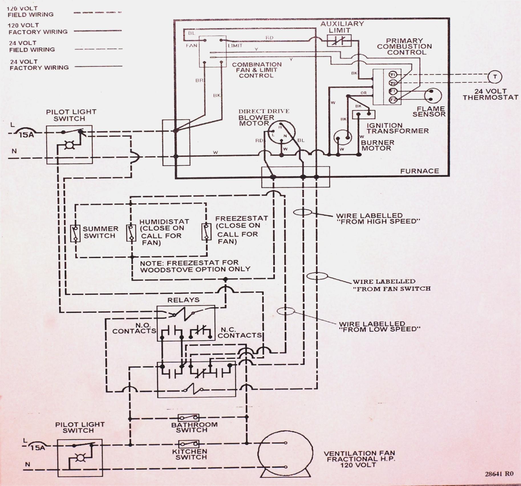 Old Furnace Wiring Diagram | Wiring Diagram - Furnace Wiring Diagram
