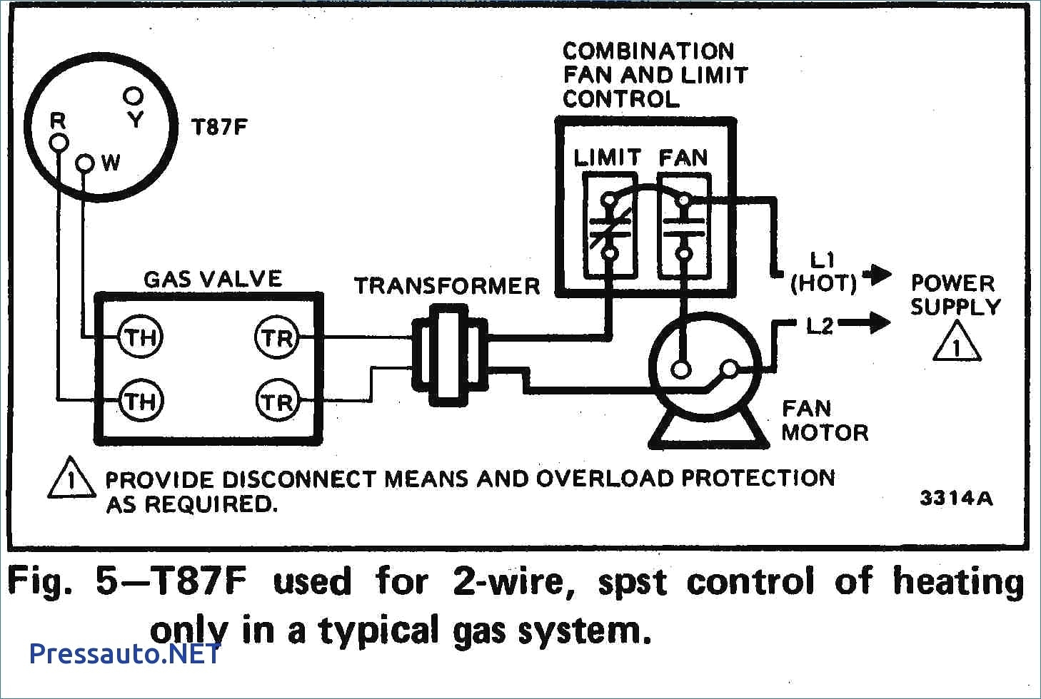 Old Gas Furnace Wiring | Manual E-Books - Gas Furnace Wiring Diagram