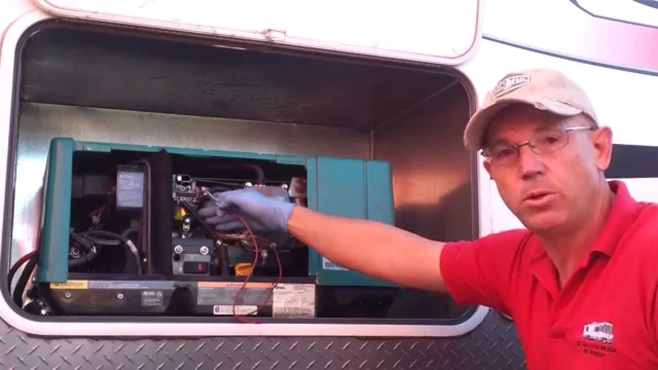 Onan 4000 Generator Will Not Start - Donald Mcadams - Youtube - Onan Generator Remote Start Switch Wiring Diagram