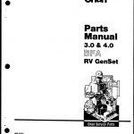 Onan 965 0222 Bfa 3.0 4.0 Parts. | Manualzz   Onan 4.0 Rv Genset Wiring Diagram