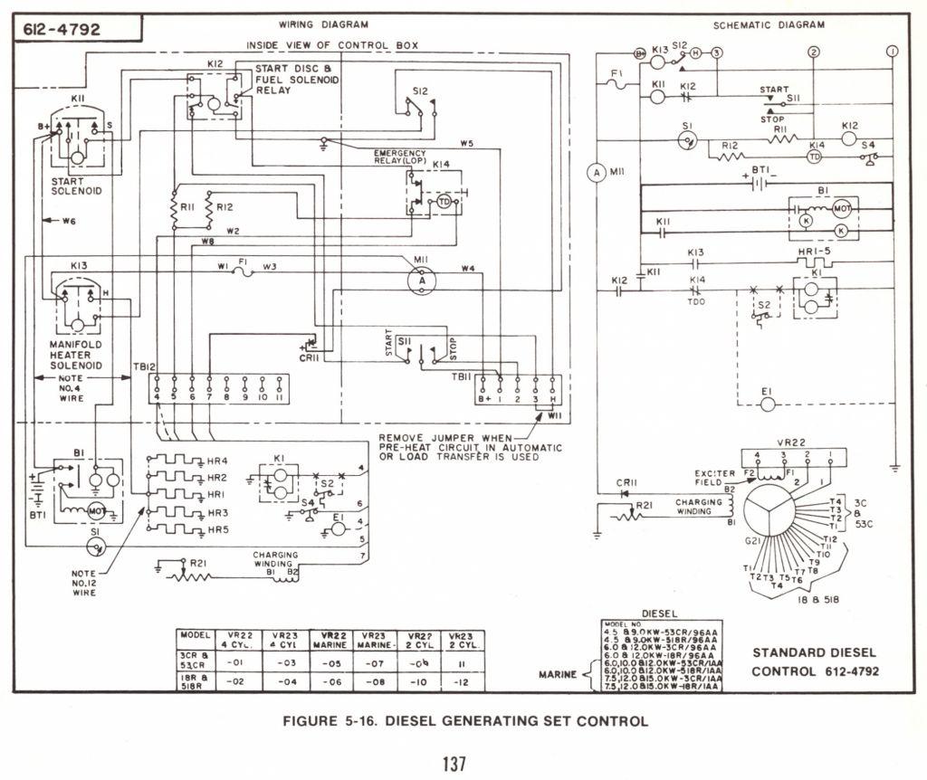 Onan Emerald 1 Genset Wiring Diagram | Manual E-Books - Onan Emerald 1 Genset Wiring Diagram