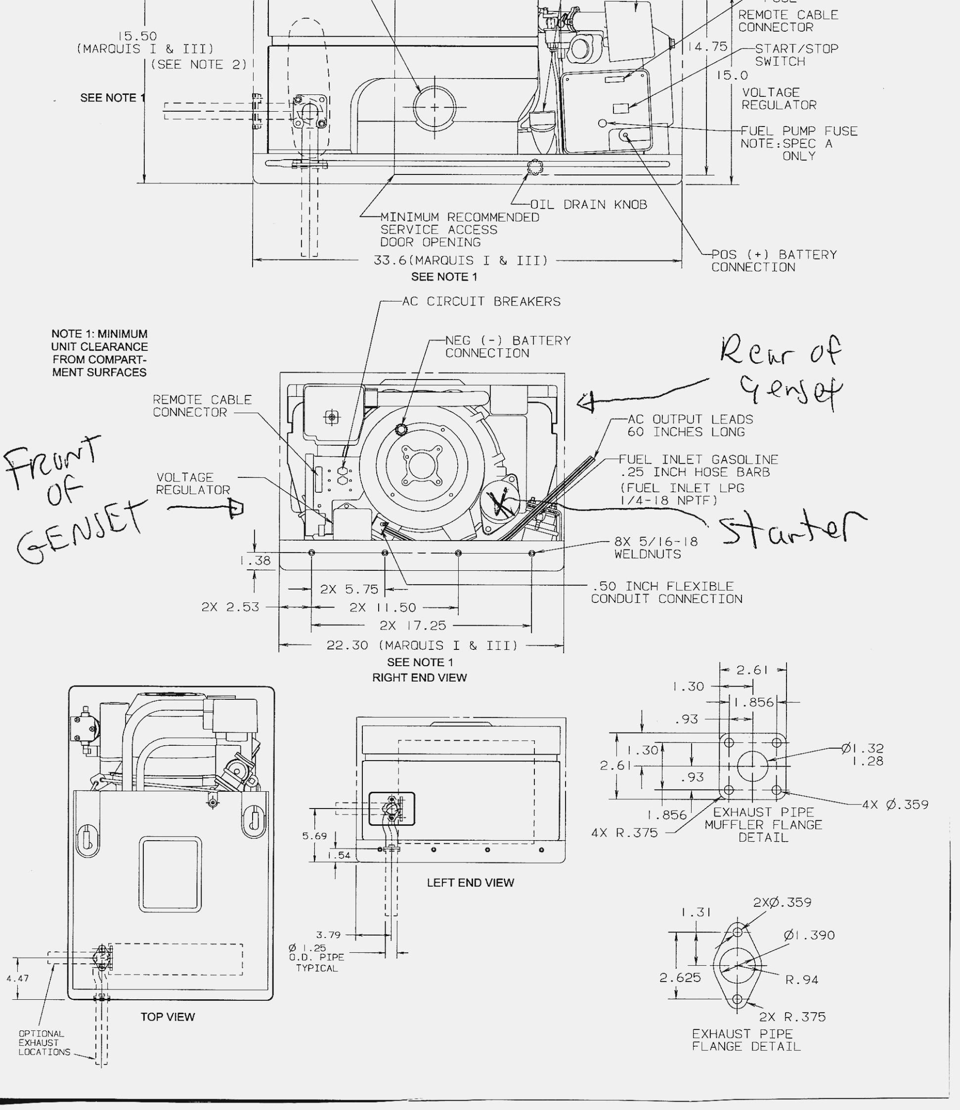 Onan Emerald 1 Wiring Diagram | Wiring Diagram - Onan Emerald 1 Genset Wiring Diagram