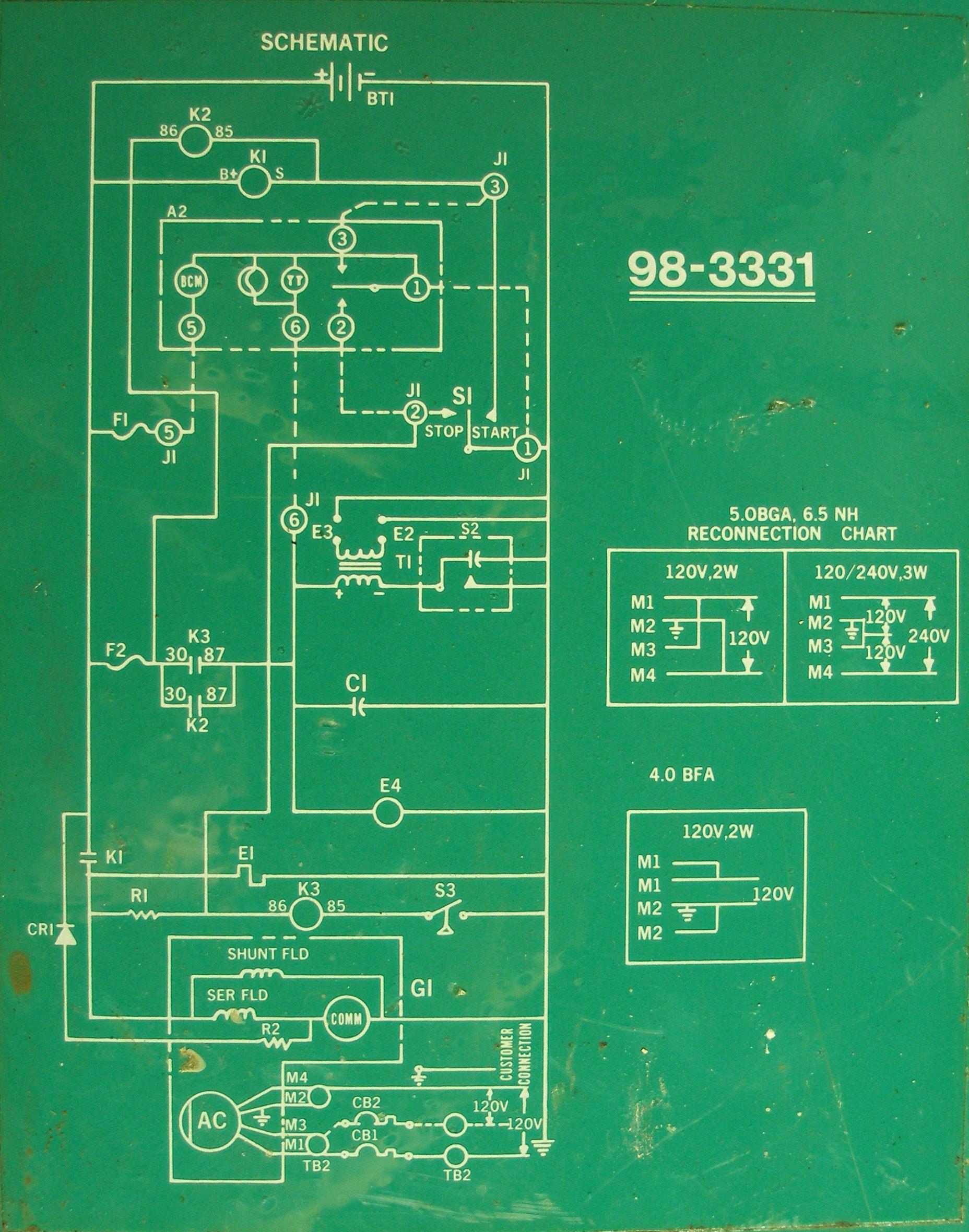 Onan Genset Wiring Diagram | Best Wiring Library - Onan 4.0 Rv Genset Wiring Diagram