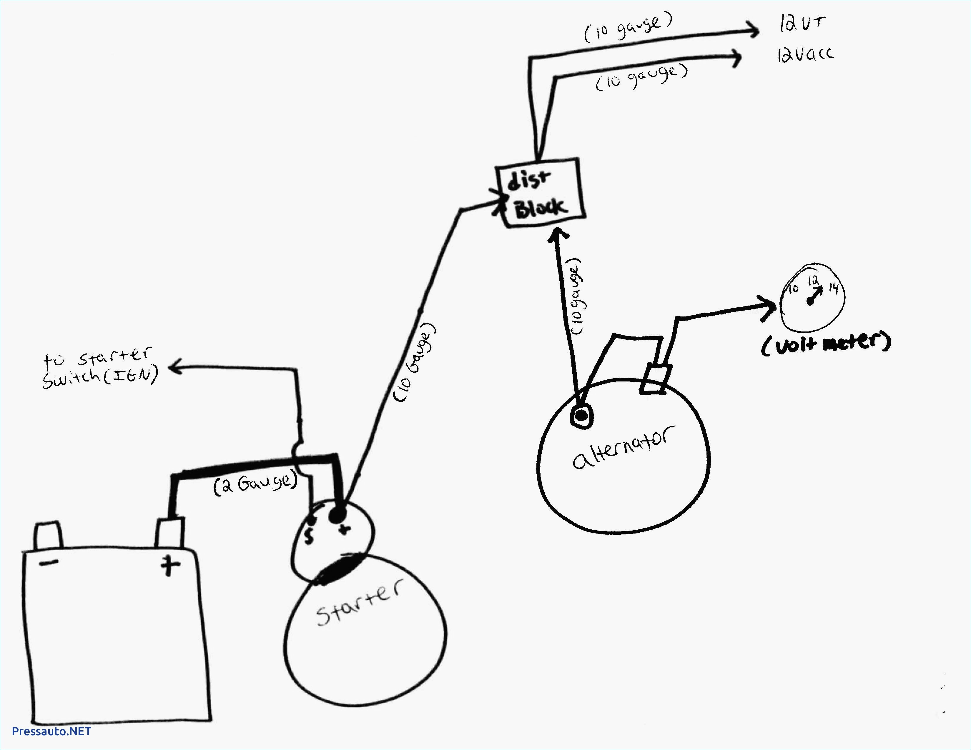 One Wire Alternator Wiring Diagram Chevy - Wiring Block Diagram - One Wire Alternator Wiring Diagram Chevy