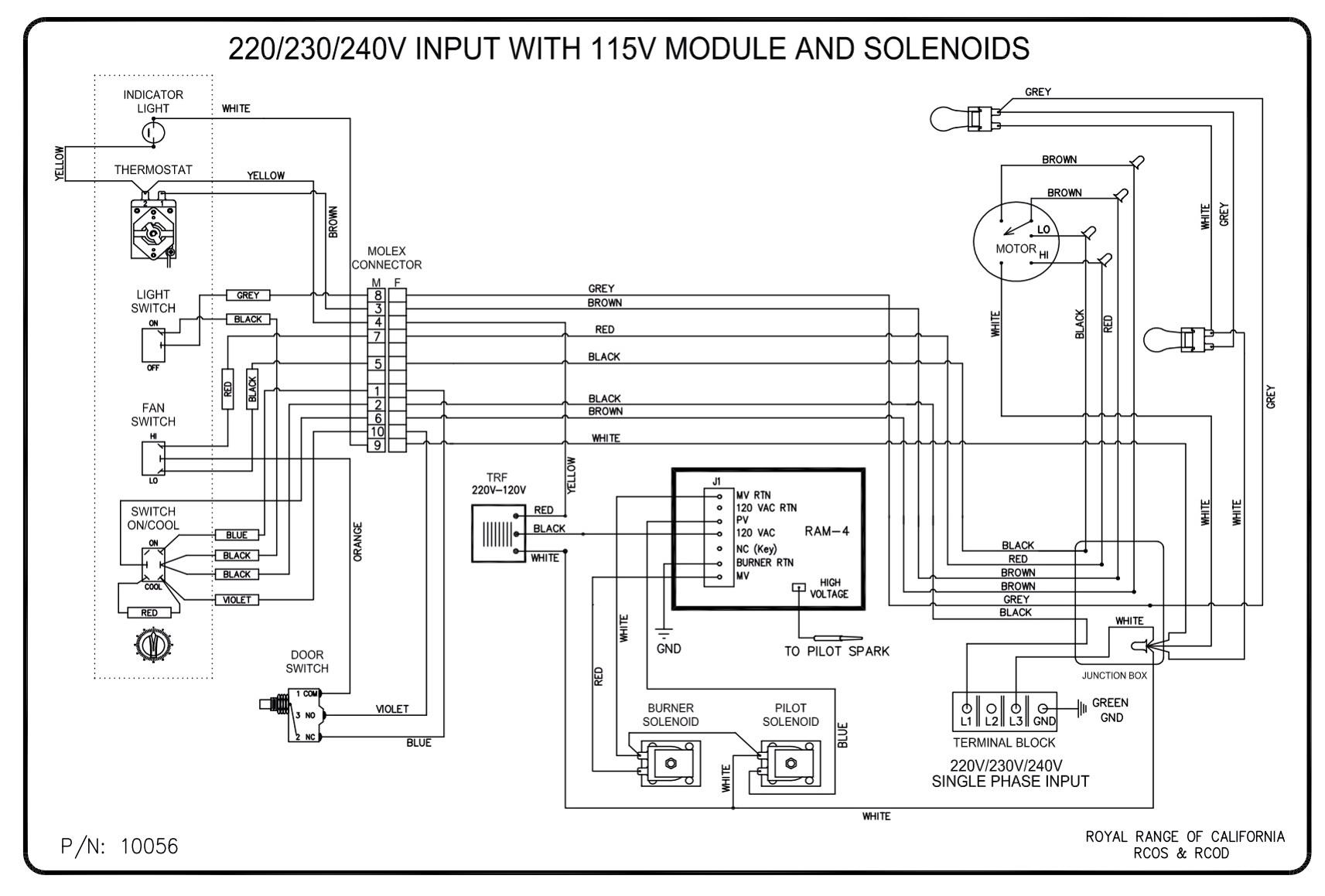 Oven Wiring Diagram - Data Wiring Diagram Today - Wiring Diagram