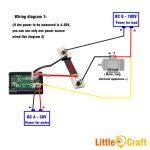 Panel Mount Digital Volt & Amp Mete (End 7/13/2020 10:32 Am)   Digital Volt Amp Meter Wiring Diagram