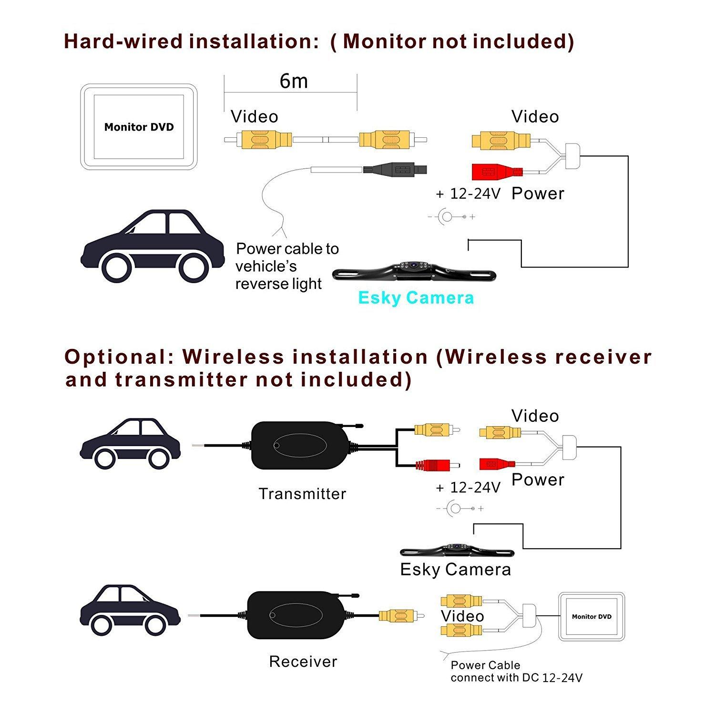Peak Backup Camera Wiring Diagram | Manual E-Books - Peak Backup Camera Wiring Diagram