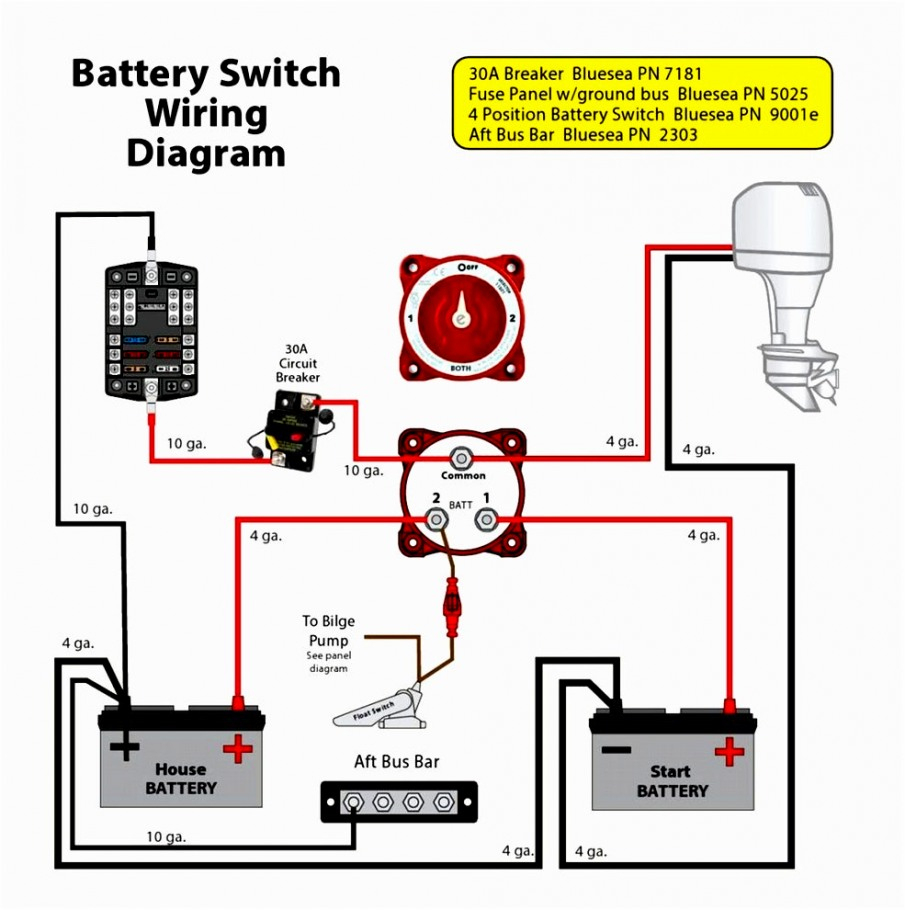 Perko Switch Wiring Diagram | Wiring Diagram - Perko Battery Switch Wiring Diagram