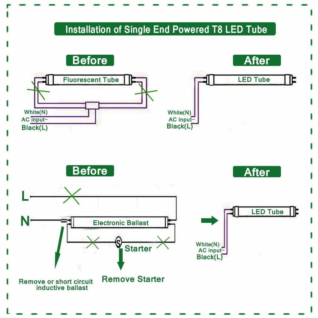 4 Lamp T12 Ballast Wiring Diagram