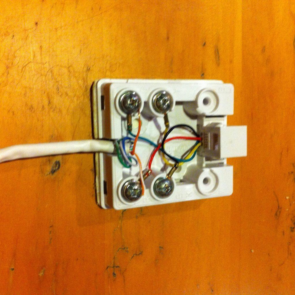 Phone Jack Wires Diagram