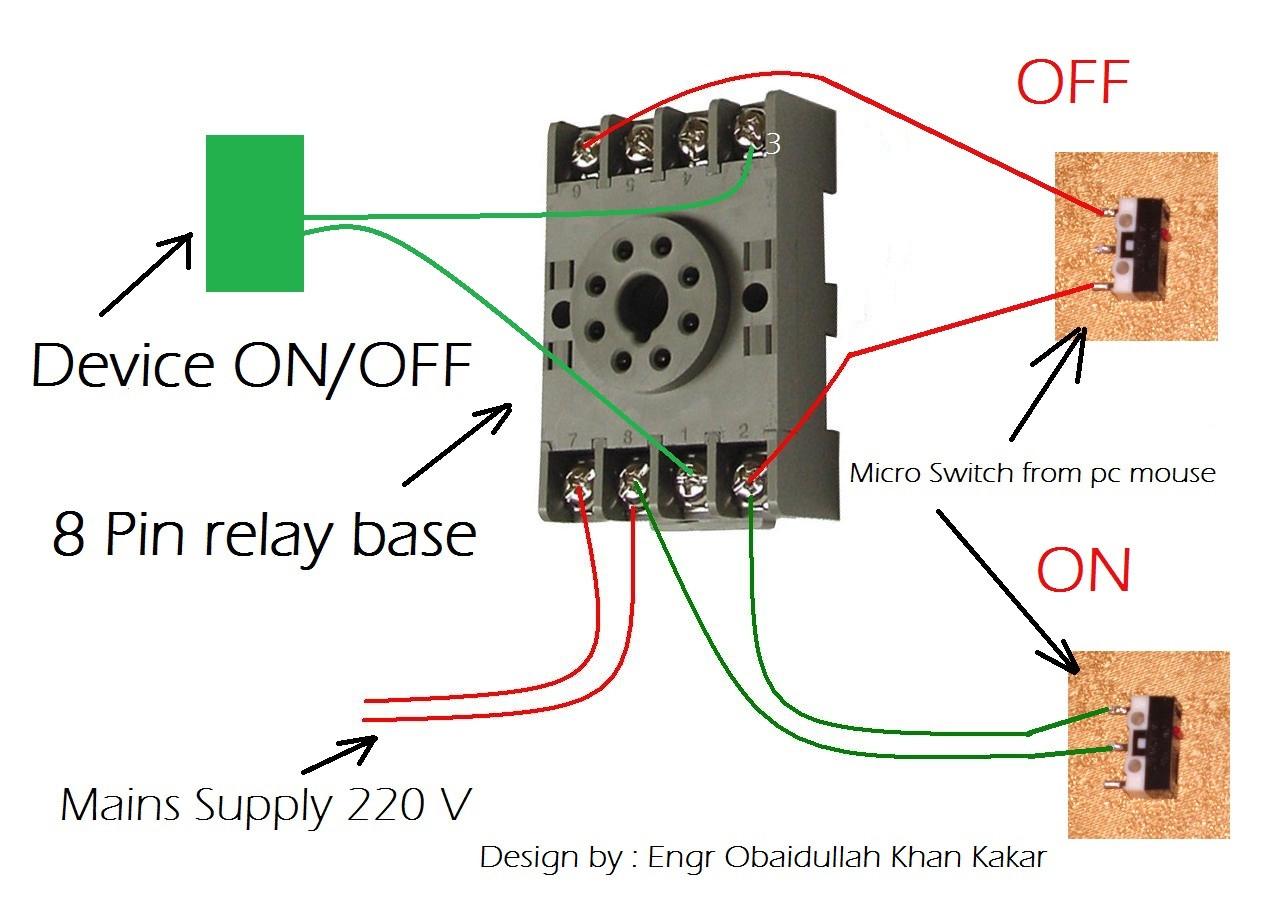 Pin Relay Wiring Diagram - Wiring Diagram Data Oreo - 8 Pin Relay Wiring Diagram