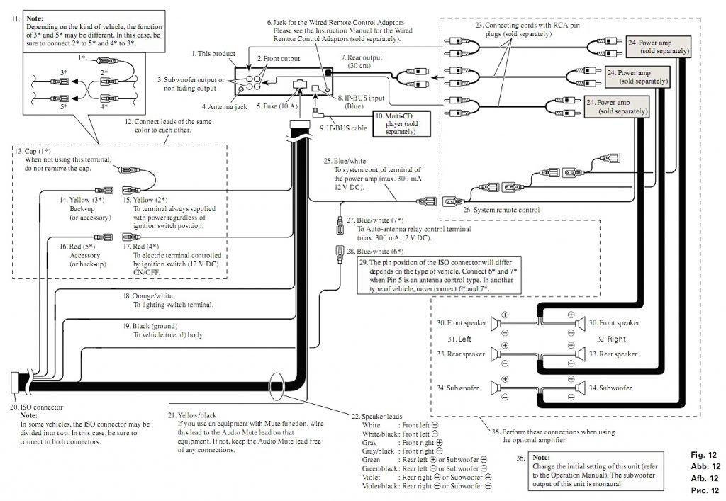 Pioneer 16 Pin Wiring Diagram