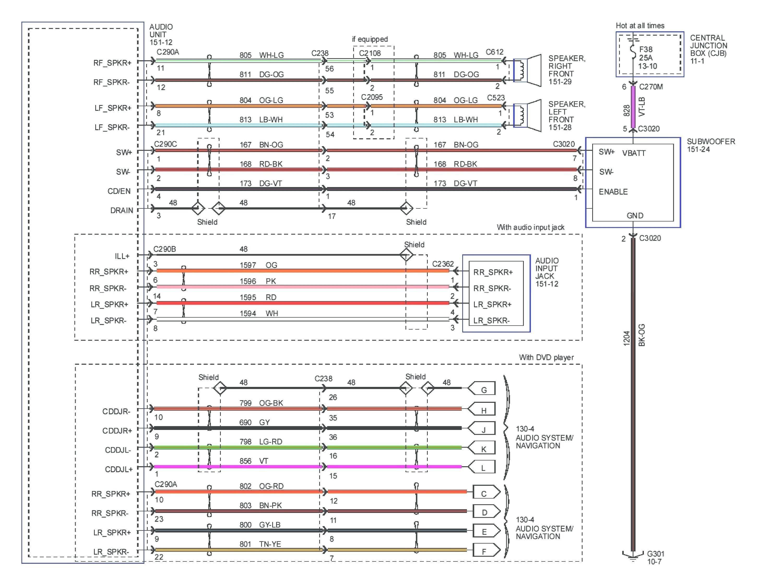 Pioneer Avh Wiring Diagram Colors   Wiring Diagram - Pioneer Avh-200Ex Wiring Diagram