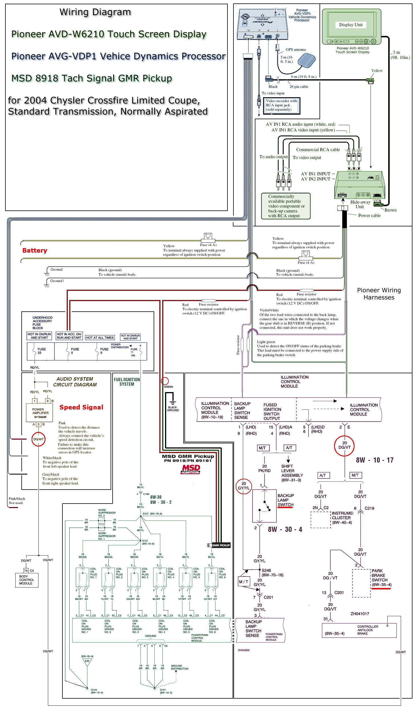 Pioneer Avic N1 Cpn1899 Wiring Diagram Pioneer Parking Brake Bypass - Pioneer Parking Brake Bypass Wiring Diagram