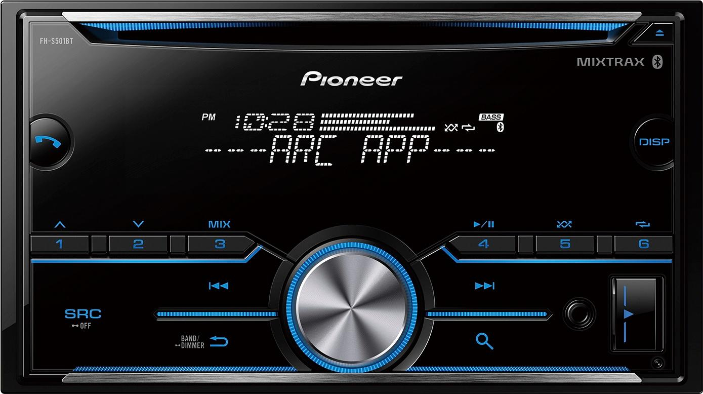 Pioneer Bluetooth - In-Dash Cd Receiver Black Fh-S501Bt - Best Buy - Pioneer Fh-S501Bt Wiring Diagram