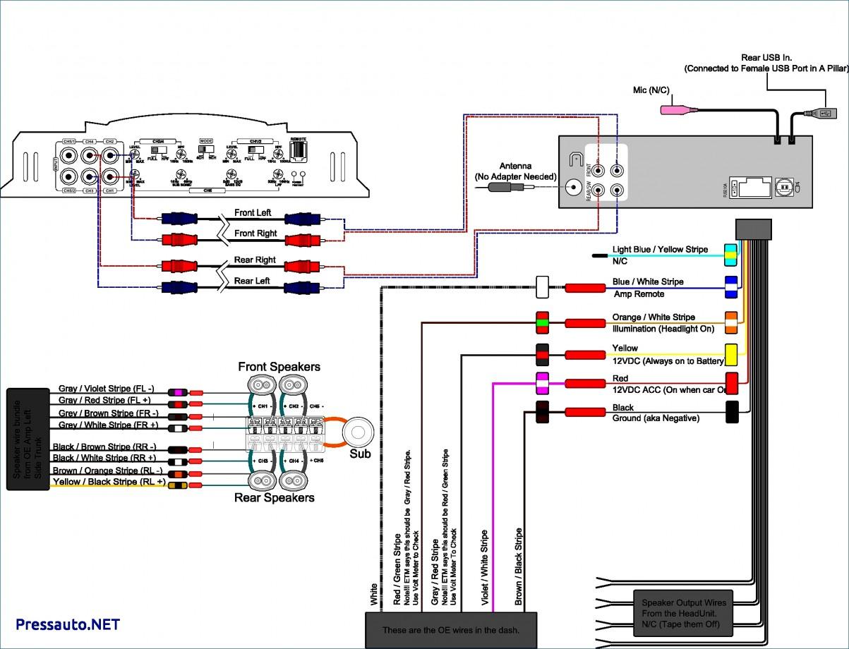 Pioneer Car Stereo Wiring Diagram Free Luxury Amp - Pioneer Car Stereo Wiring Diagram