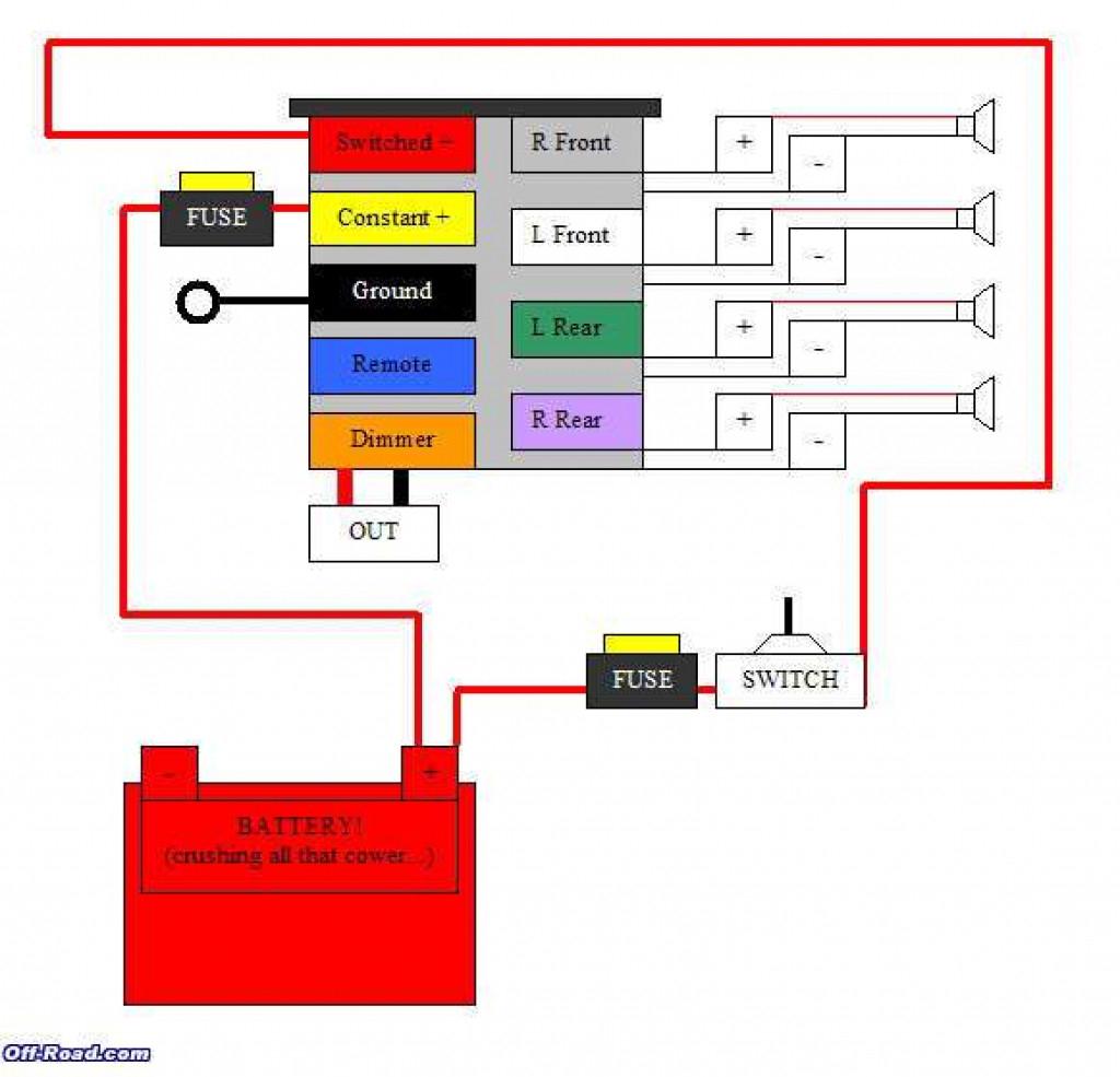 Pioneer Car Stereo Wiring Diagram Free | Wiring Library - Pioneer Car Stereo Wiring Diagram Free