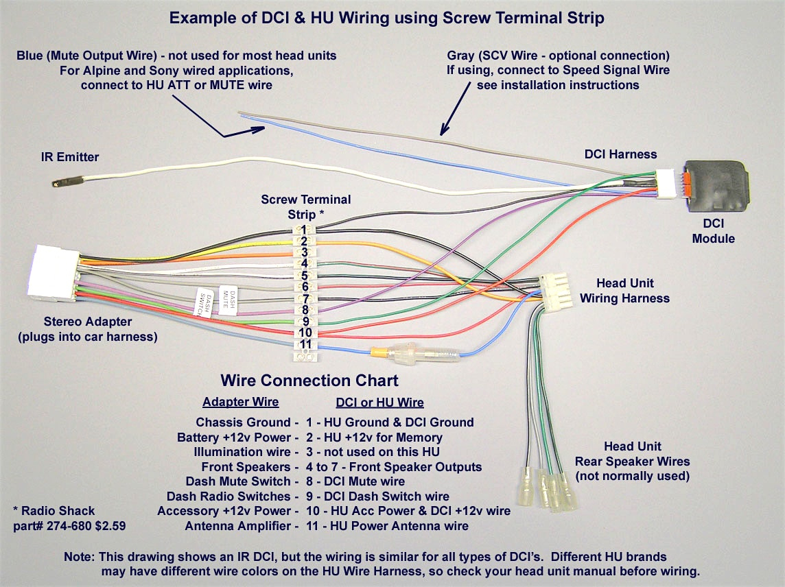 Pioneer Car Stereo Wiring Harness Diagram Mechanic S Corner - Wiring - Car Stereo Wiring Harness Diagram