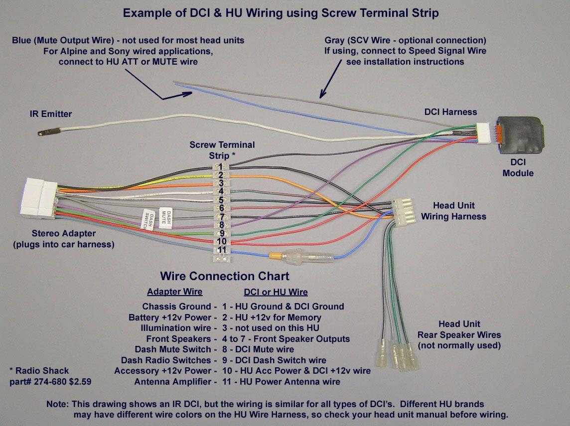 Pioneer Car Stereo Wiring Harness Diagram | Mechanic's Corner - Radio Wiring Harness Diagram