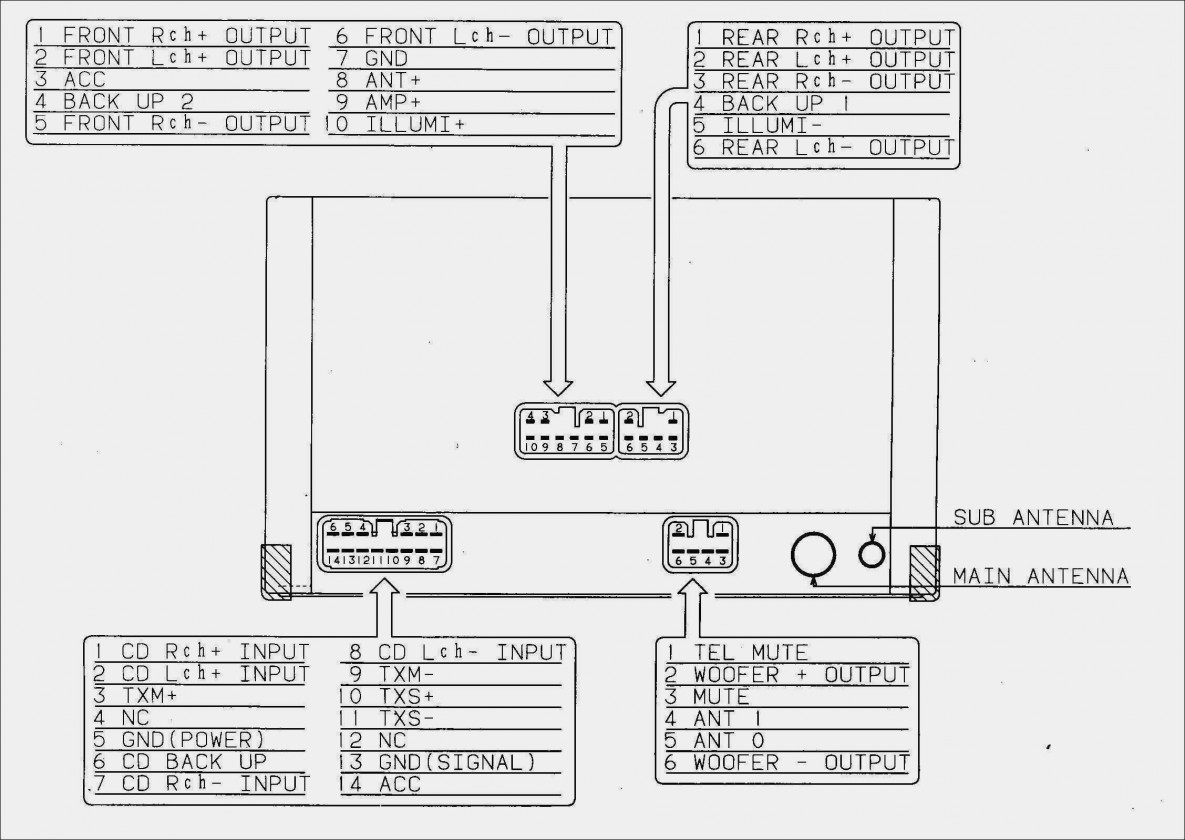 Pioneer Deh X3500Ui Wiring Harness Diagram | Manual E-Books - Pioneer Deh X3500Ui Wiring Diagram