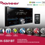 Pioneer Fh S501Bt Bluetooth Double Din Sized Receiver   Walmart   Pioneer Fh S501Bt Wiring Diagram