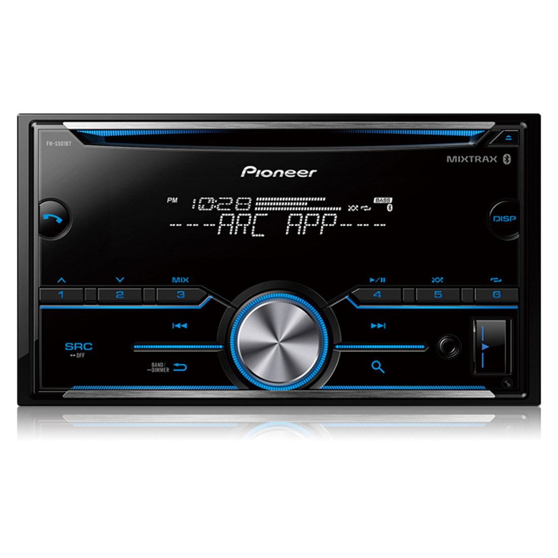 Pioneer Fh-S501Bt Double Din Cd Receiver With Mixtrax - Pioneer Fh-S501Bt Wiring Diagram