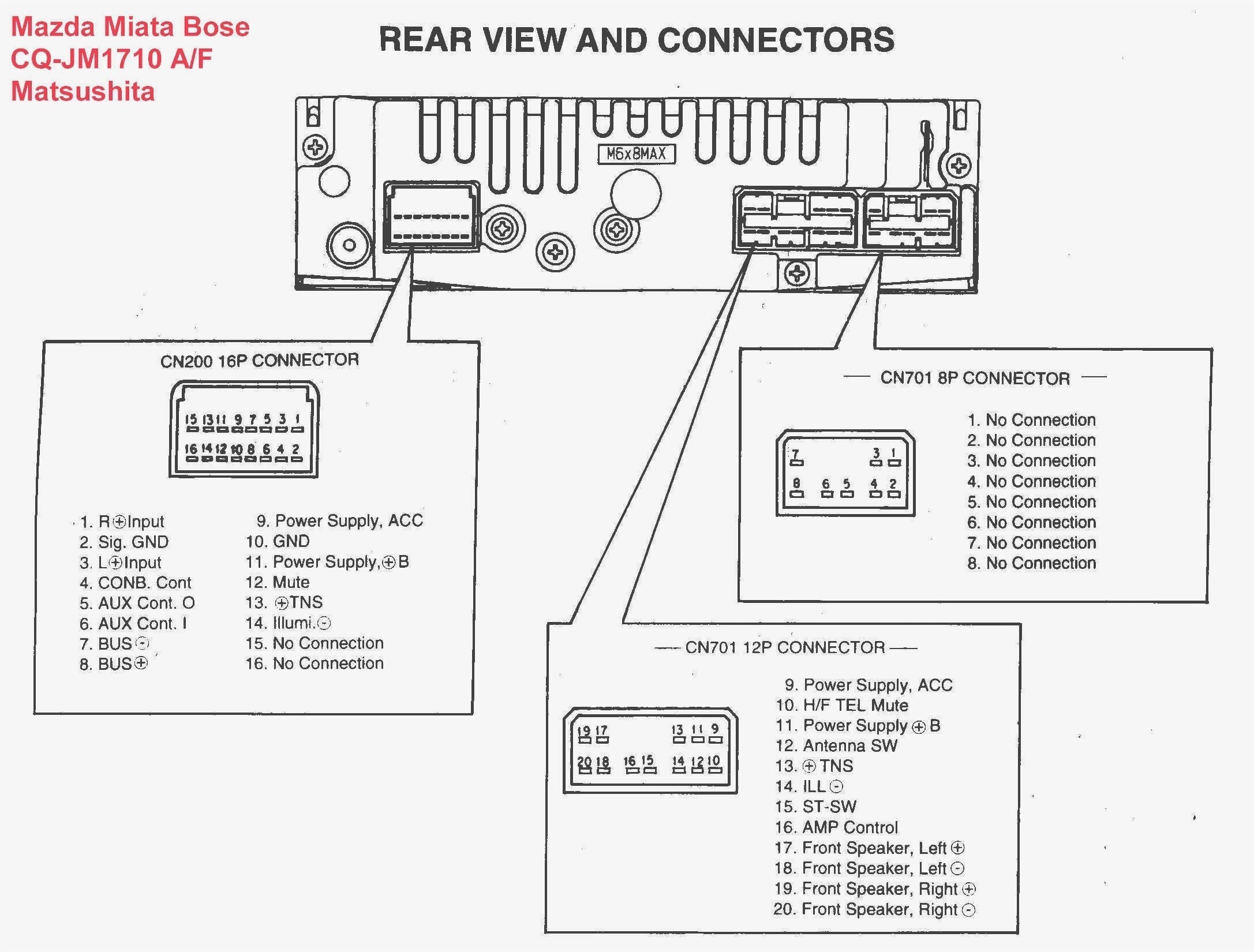 Pioneer Fh X700Bt Wiring Diagram from 2020cadillac.com