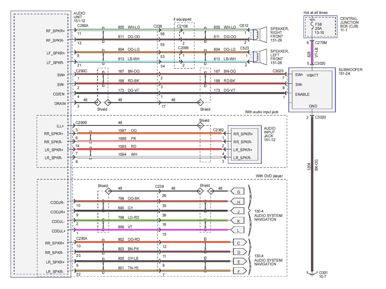 Pioneer Radio Deh 150Mp Wiring Diagram | Manual E-Books - Pioneer Deh 150Mp Wiring Harness Diagram