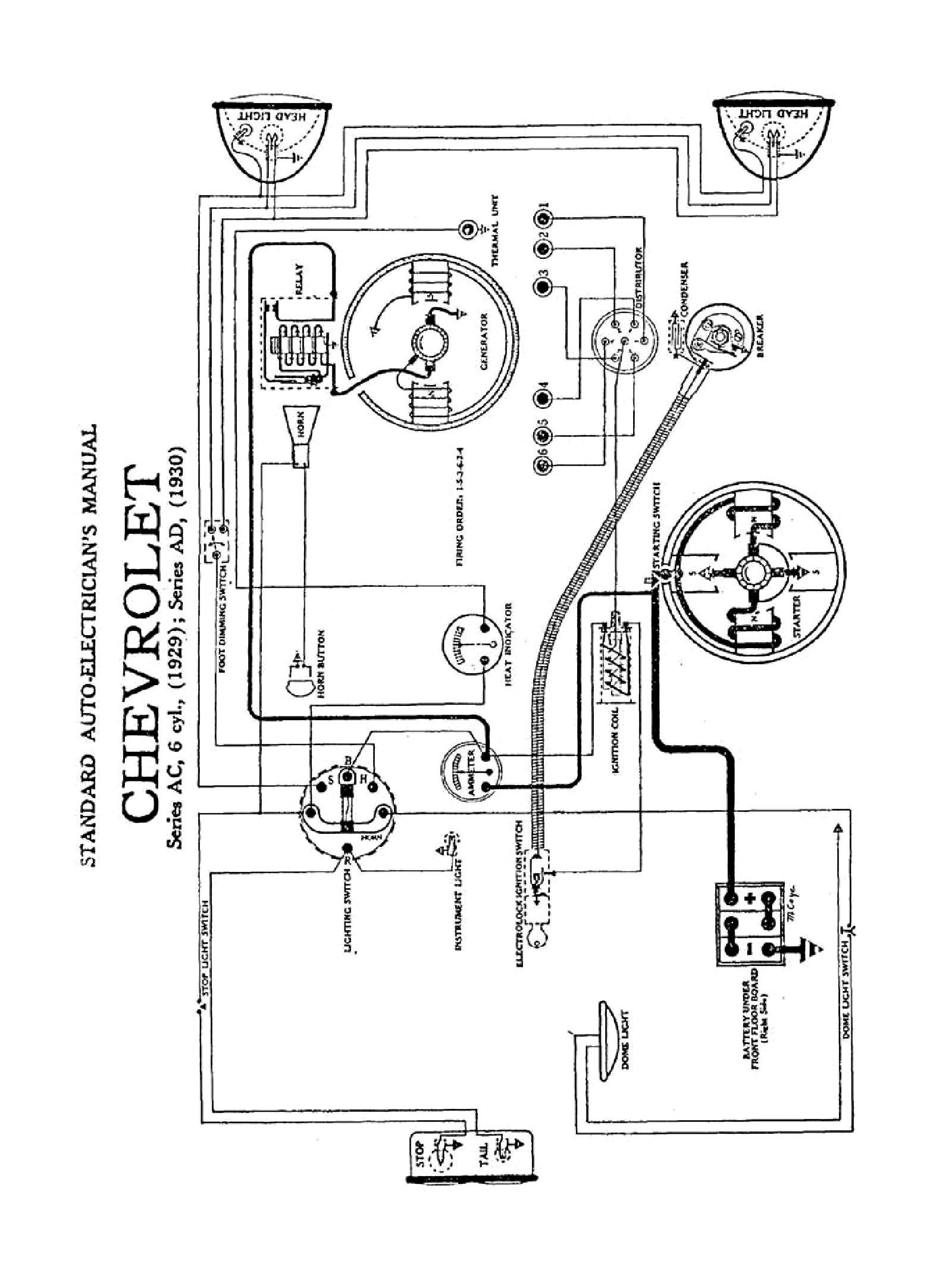 Points Distributor Wiring Diagram General Motors   Wiring Diagram - General Motors Wiring Diagram