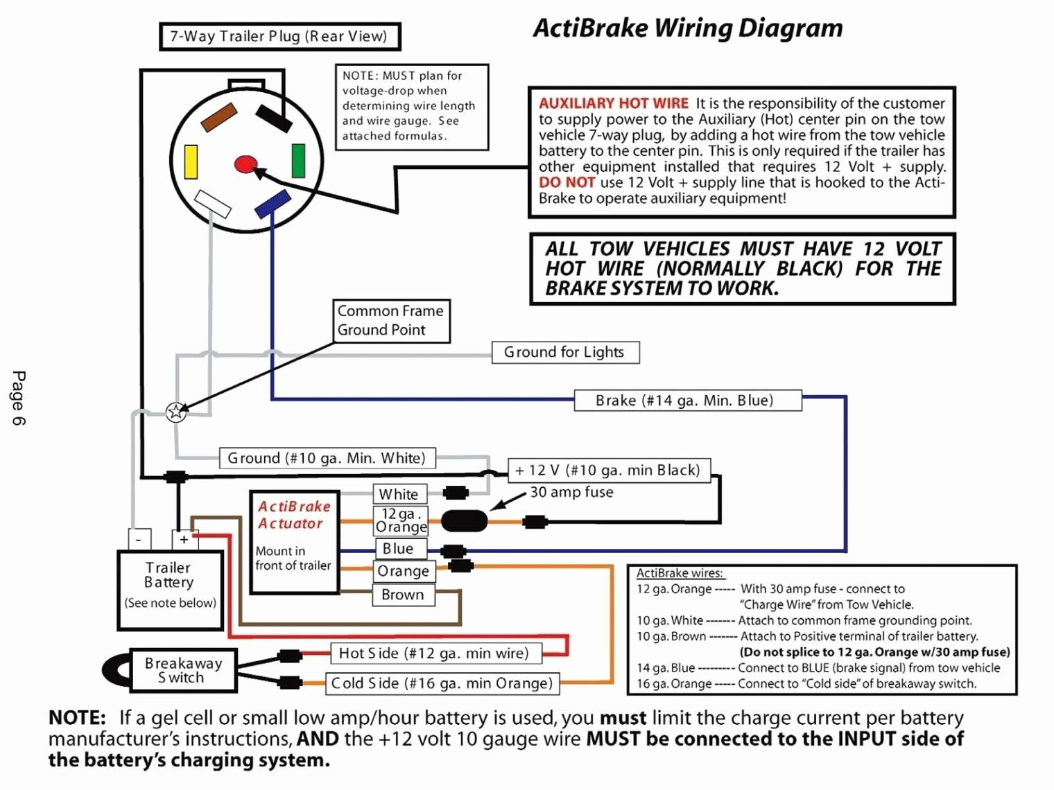 Pollak Trailer Plug Wiring Diagram 7   Manual E-Books - Pollak Trailer Plug Wiring Diagram
