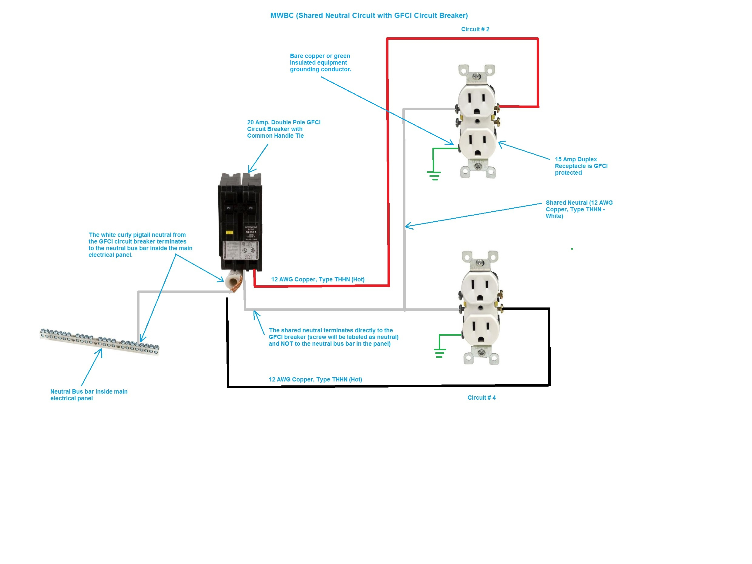 Pool Gfci Breaker Wiring Diagram | Manual E-Books - Pool Light Wiring Diagram