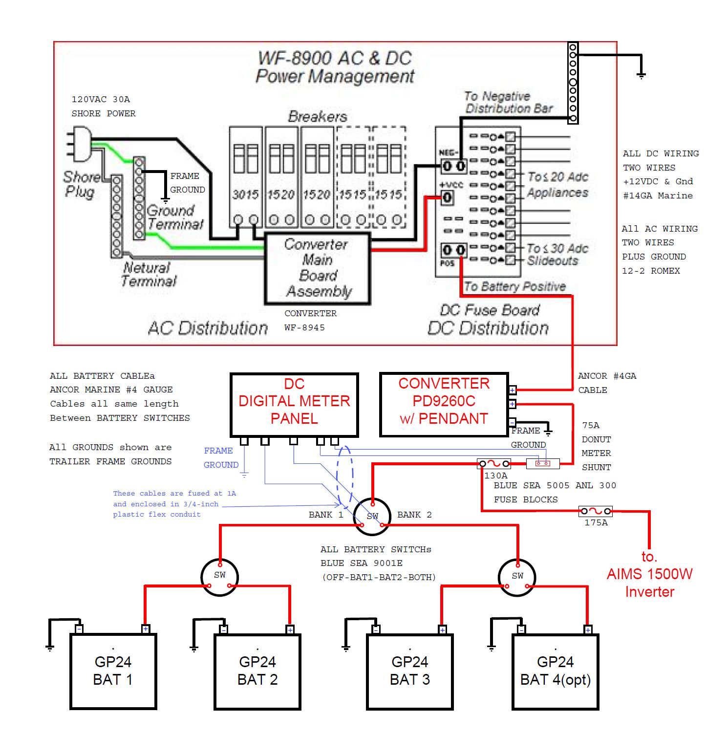 Power Converter Wiring Diagram | Wiring Diagram - Progressive Dynamics Power Converter Wiring Diagram
