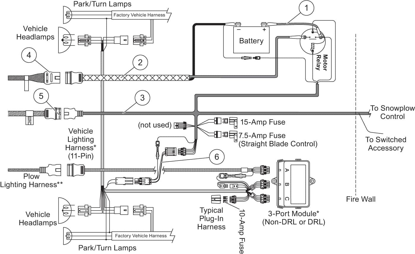 Printable Western® Plow & Spreader Specs | Western Products - Western Snow Plows Wiring Diagram